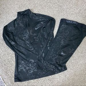 Nike Dri-Fit Top and Bottom Set
